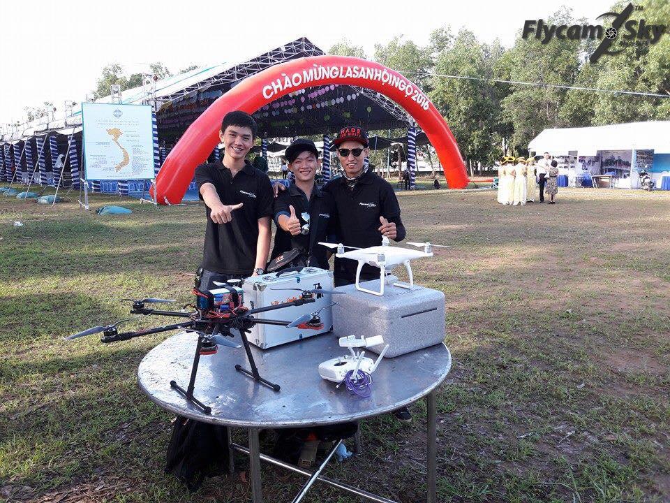Flycam quay sự kiện Lasan Hội ngộ tại Tp. Hồ Chí Minh