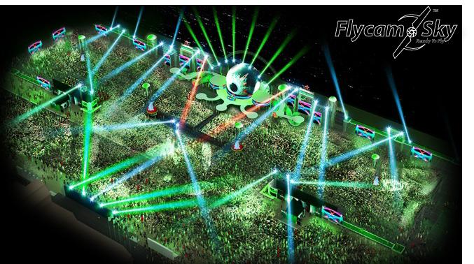 Flycam quay sự kiện bia Haniken