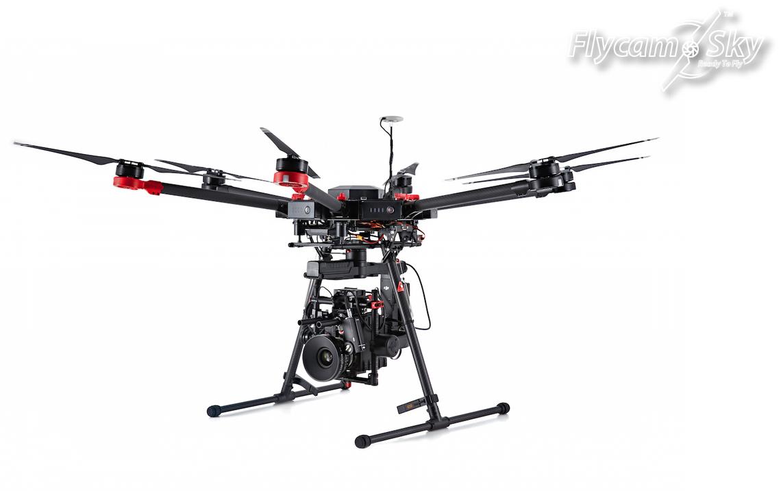 Flycam Matrice 600