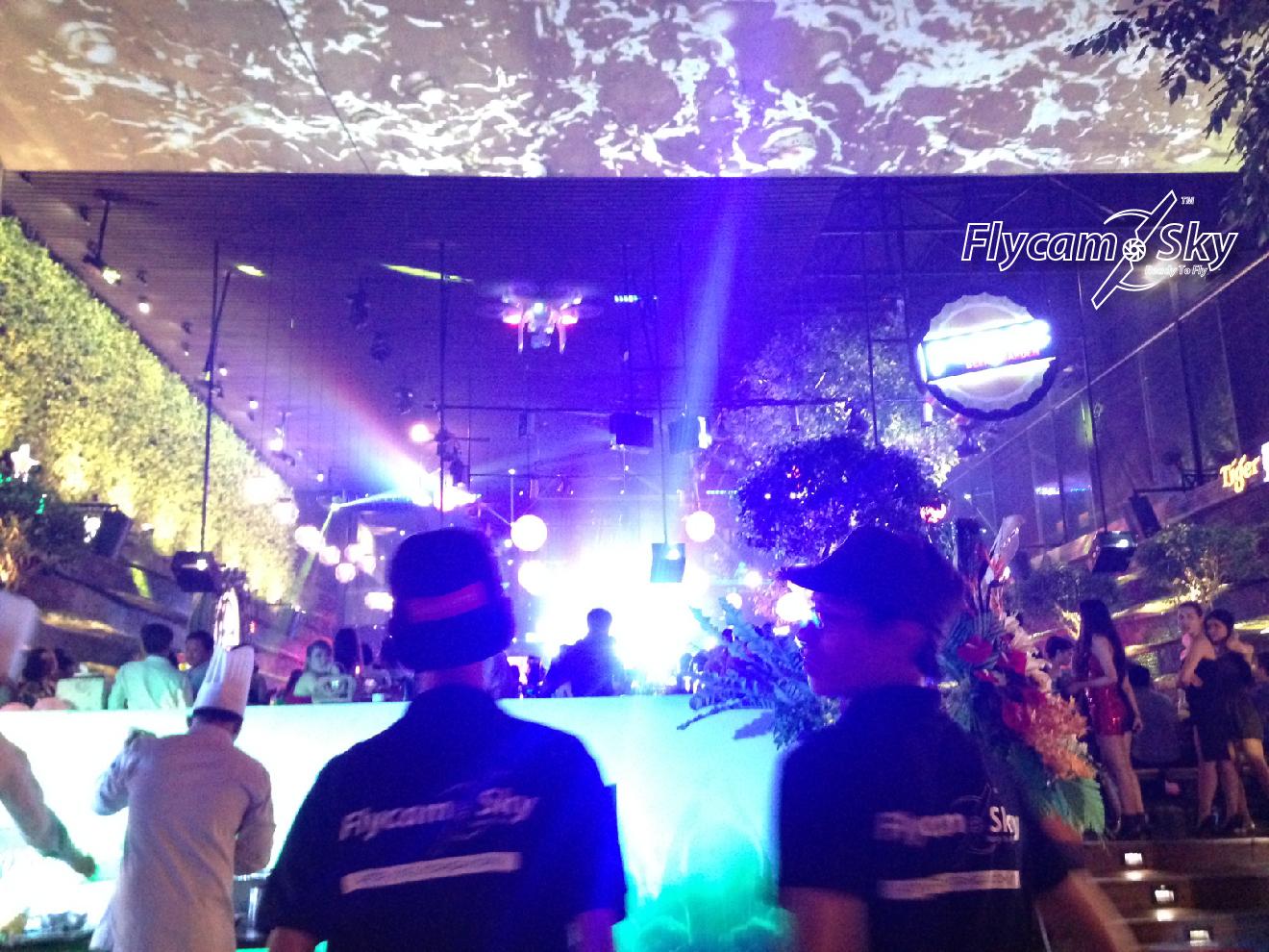 Flycam Sky quay khai trương nhà hàng tại Tp.Hồ Chí Minh