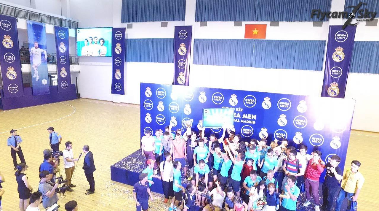 Flycam Sky quay sự kiện Chung Kết – Cúp NIVEA MEN 2016