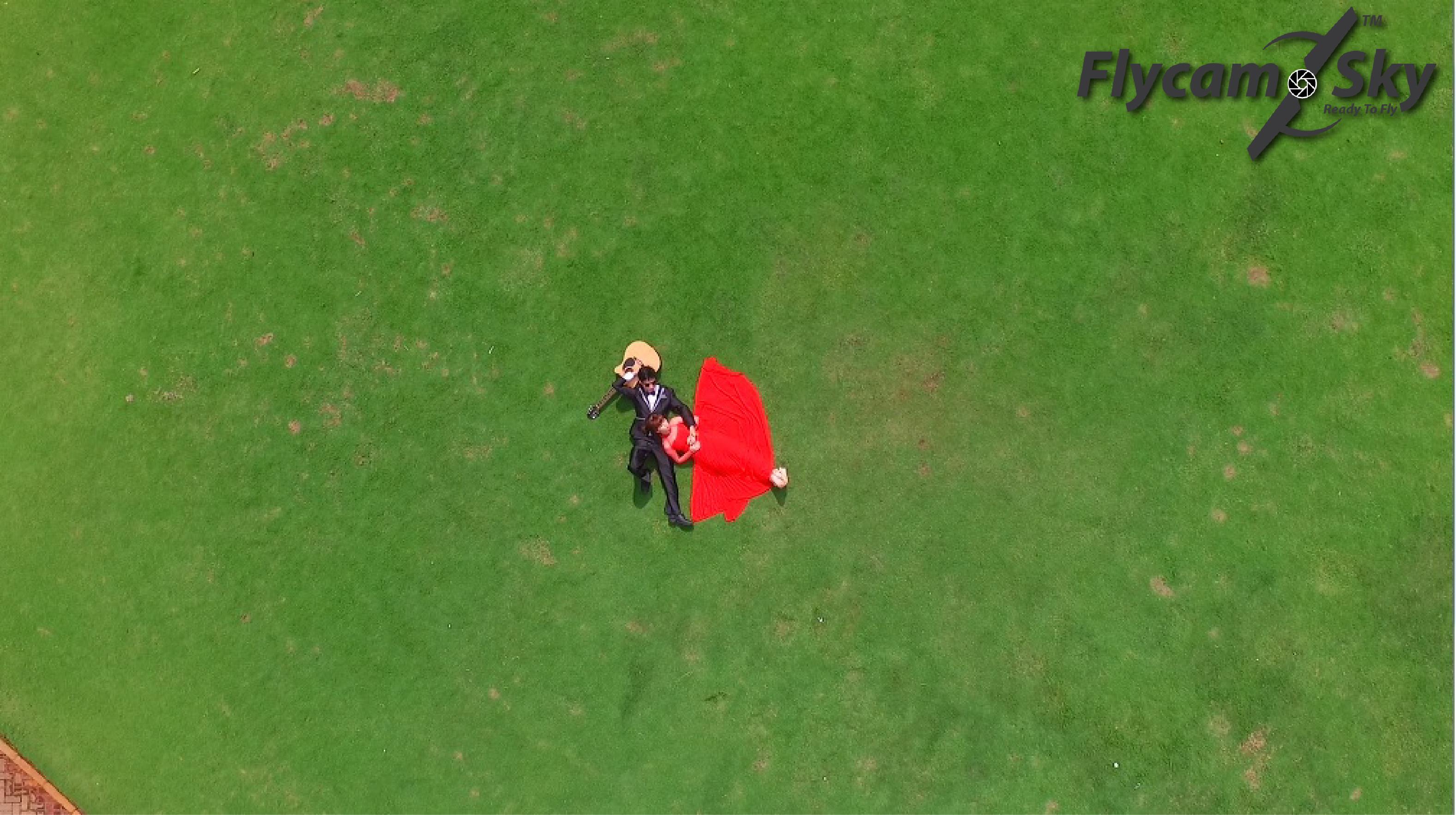 flycam quay cưới