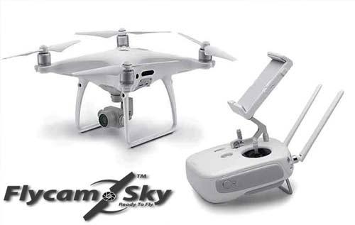 chi phí quay phim bằng Flycam Phantom 4 pro