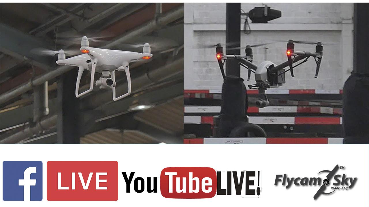 Livestream sự kiện flycam