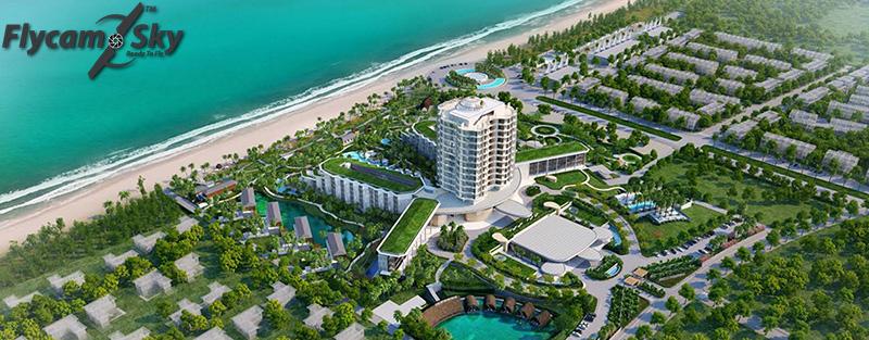 Dựng công trình resort