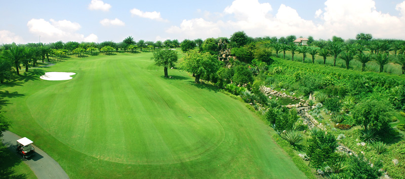 Flycam giới thiệu sân Golf chuyên nghiệp
