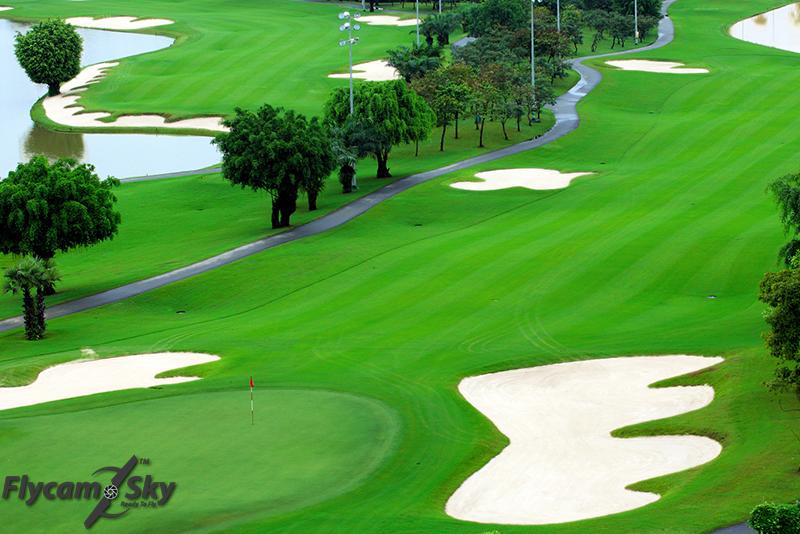 Flycam giới thiệu sân Golf