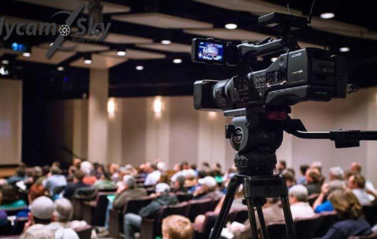 Nhận quay phim hội nghị