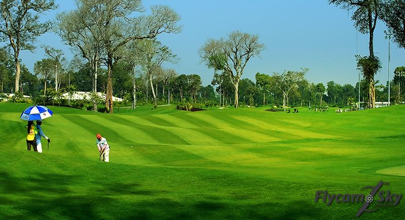 Quay Flycam giới thiệu sân Golf chuyên nghiệp