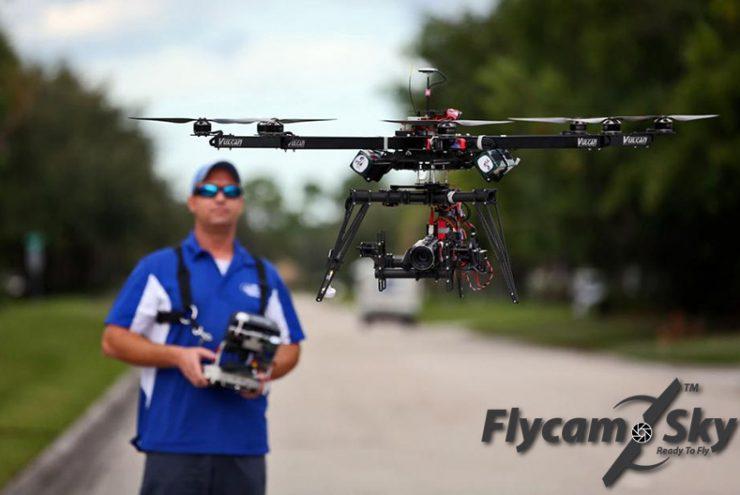 Quay phim bằng Flycam giá rẻ