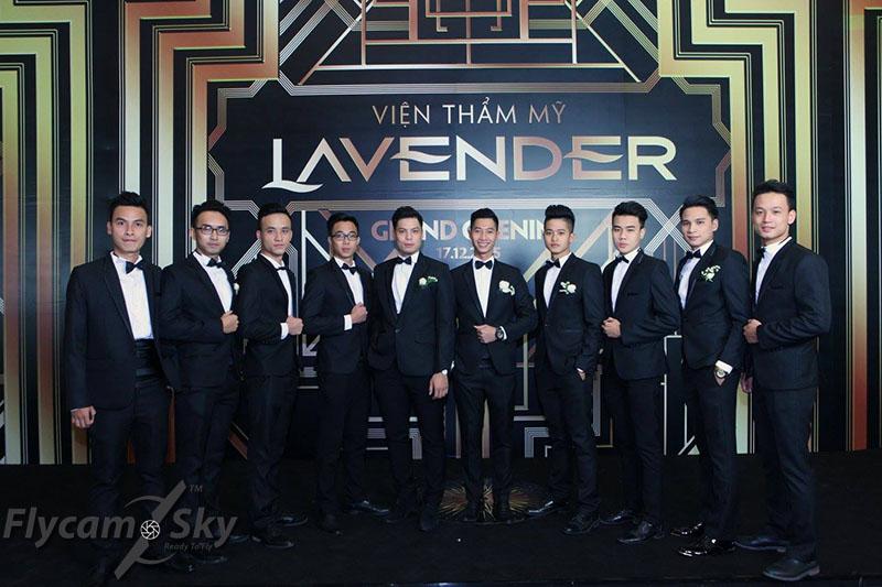Qauy phim sự kiện Lavender