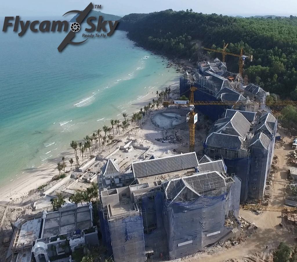 Flycam Chụp hình & Quay phim báo cáo tiến độ dự án