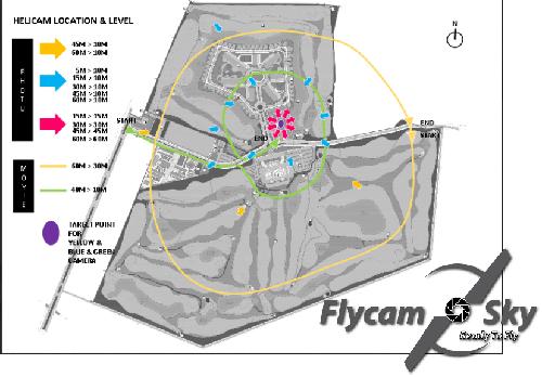 Hình ảnh khảo sát công trình bằng Flycam