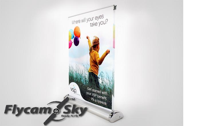 Flycam sky chuyên thiết kế poster quảng cáo độc, lạ