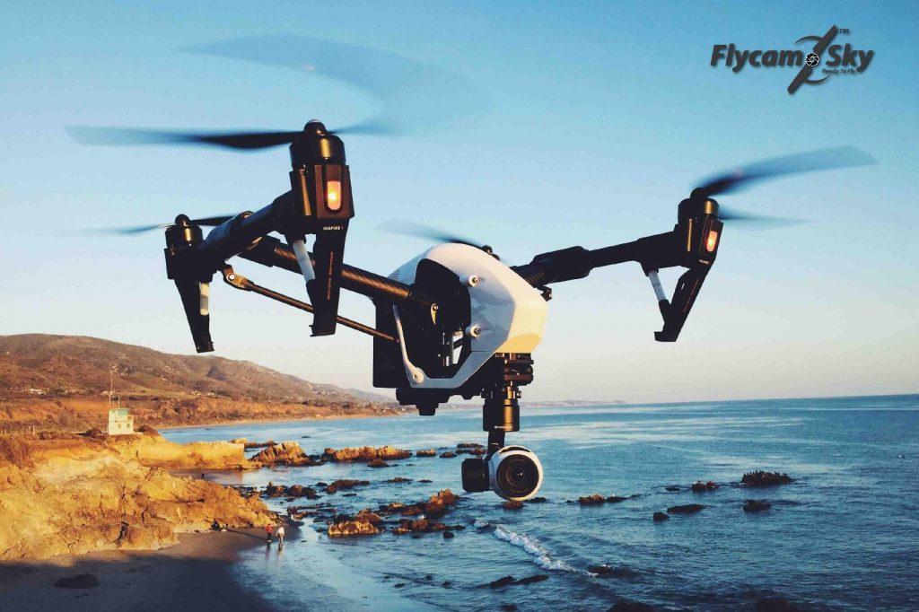 Flycam đang là sản phẩm thịnh hành trong quay phim cưới
