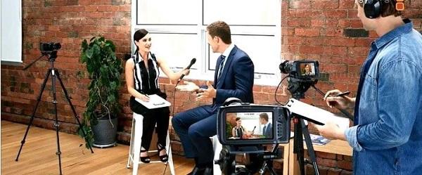 quay phim talk show chuyên nghiệp